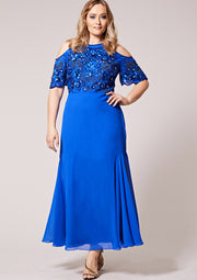 CURVE Kaira Dress Blue