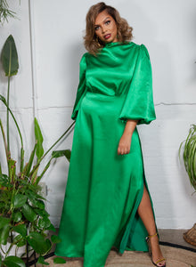 CURVE Tabitha Dress Green