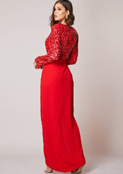 Darline Dress Red