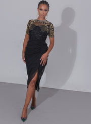 Denise Dress Black Sheer