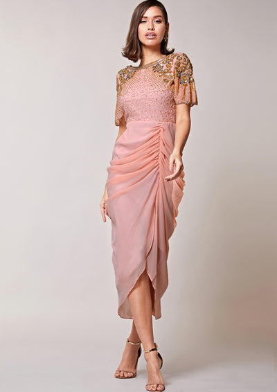 Denise Dress Blush