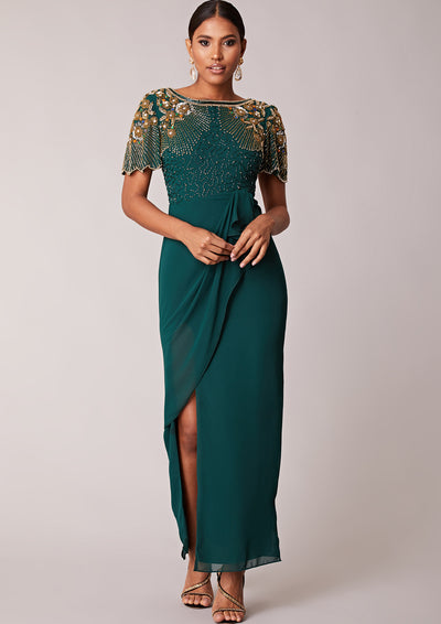Denise Dress Maxi Green
