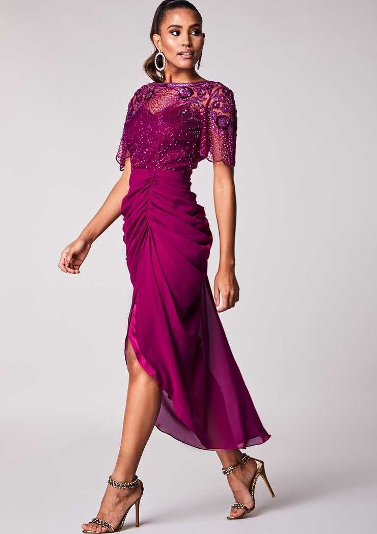 Denise Dress Plum