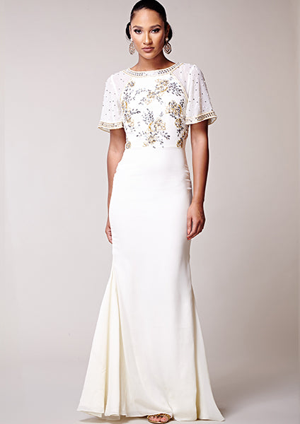 Desiree Dress White