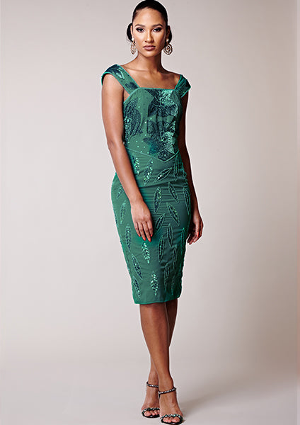 Diana Dress Teal