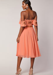 Ebonee Dress Peach