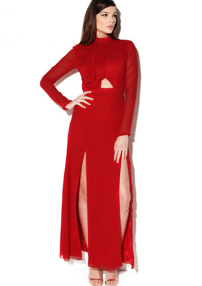 Farringdon Dress Red