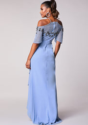 Freya Dress Blue