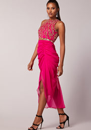 Genevieve Dress Pink