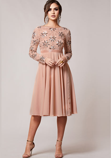 Giovanna Dress Peach