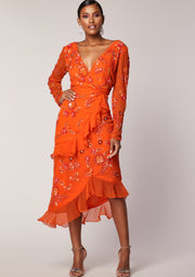 Hattie Dress Orange