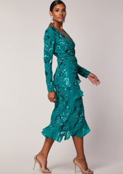 Hattie Dress Teal