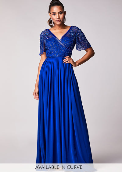 Imelda Dress Blue
