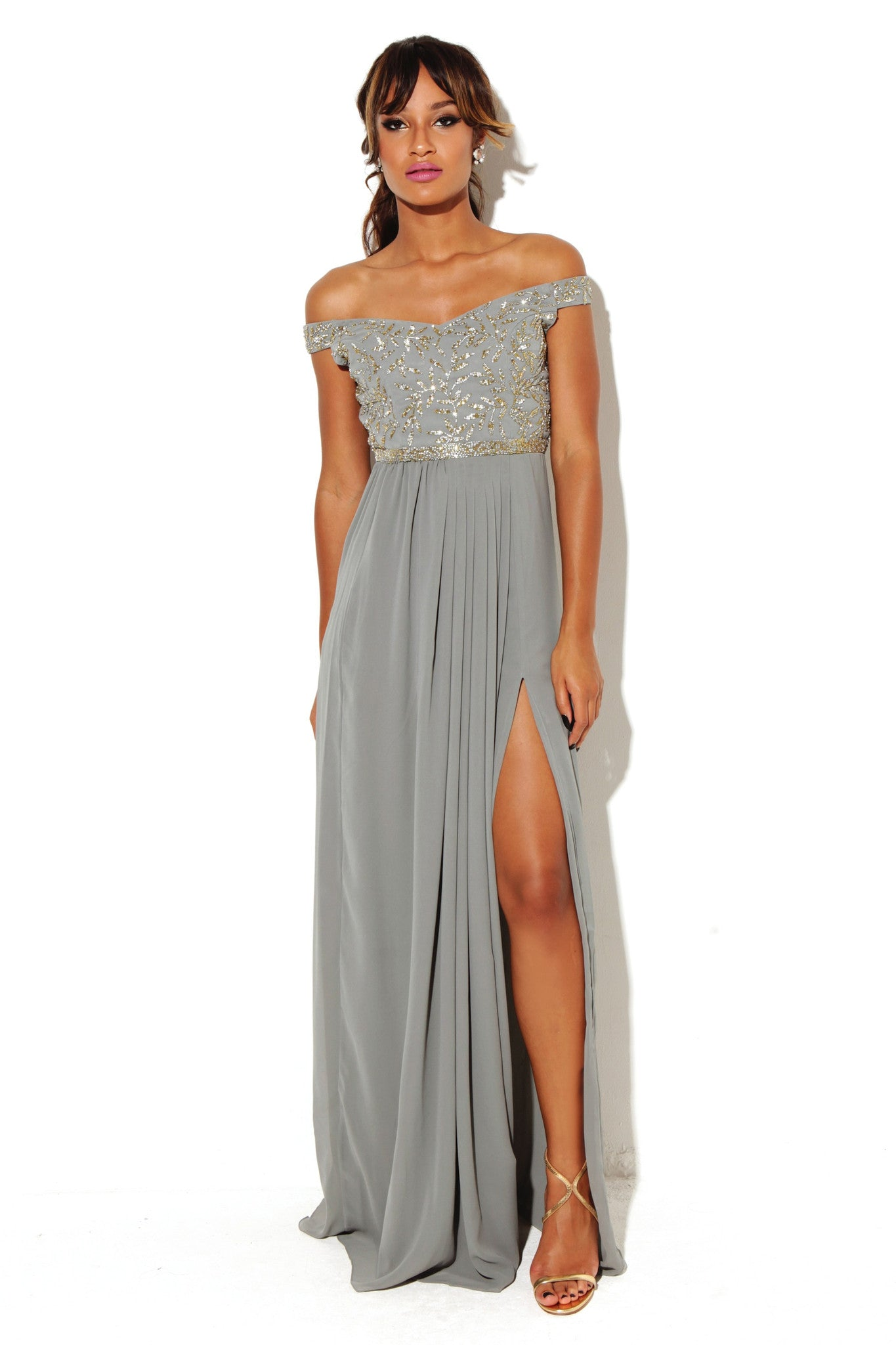 Juliana Dress Slit