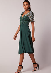 Ismene Dress Green
