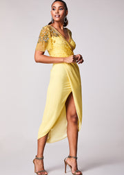 Julisa Dress Yellow