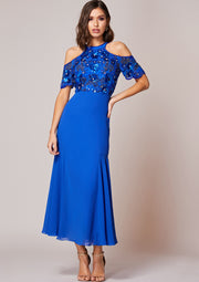 CUSTOM BRIDESMAID Kaira Dress Blue