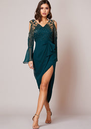 Lainie Dress Green