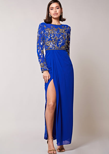 Lily Dress Cobalt Blue