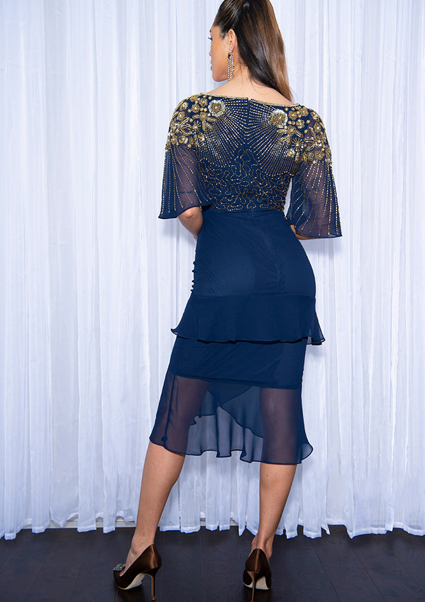 Lina Dress Navy