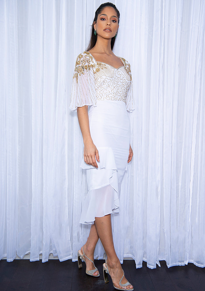 NEW TO SALE -Lina Dress White