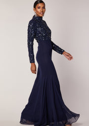 Naya Maxi Dress Navy
