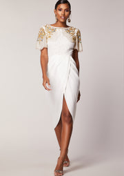 Nicola Dress Ivory