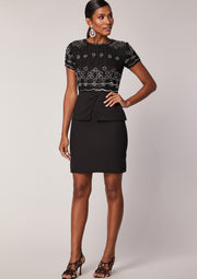 Peaches Dress Black