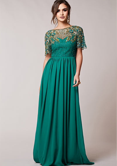 Rahaya Dress Teal