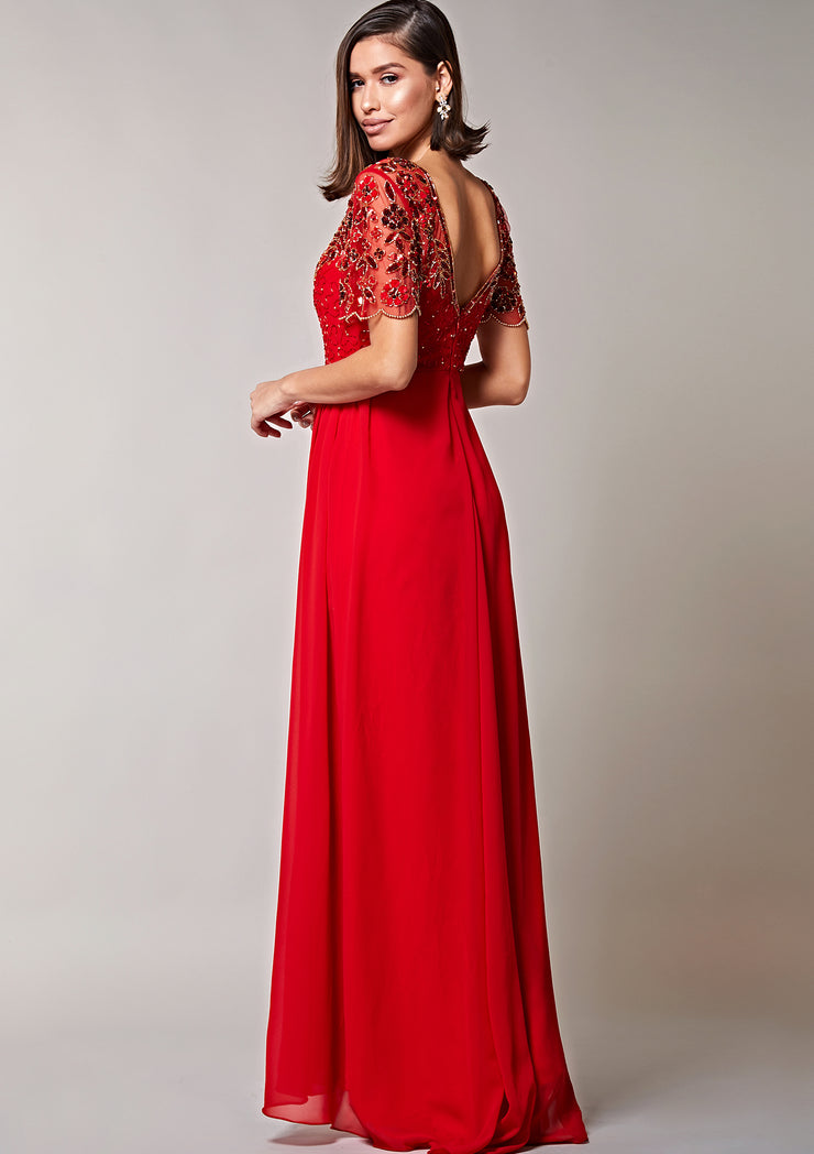 Rahaya Dress Red