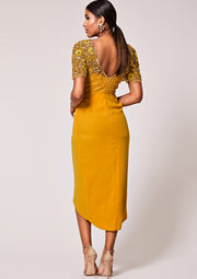 Rahaya Dress Wrap Mustard