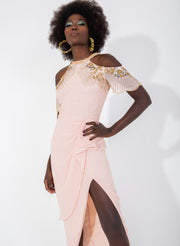 Reign Dress Blush