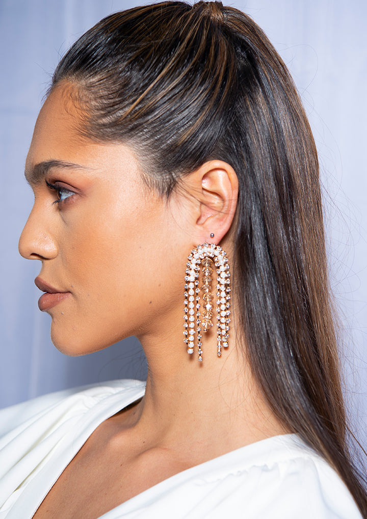 Salma Earrings Gold