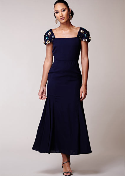 Thassia Dress Navy