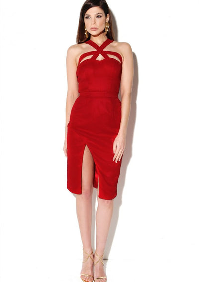 Tooley Dress Red