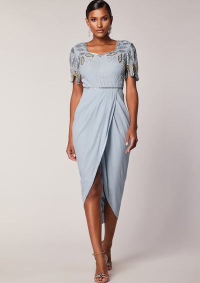 720d6ec7ca Ursula Midi Dress Ice Blue