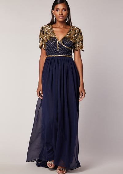 Ursula Dress Navy
