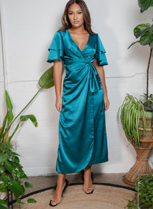 Zara Dress Teal