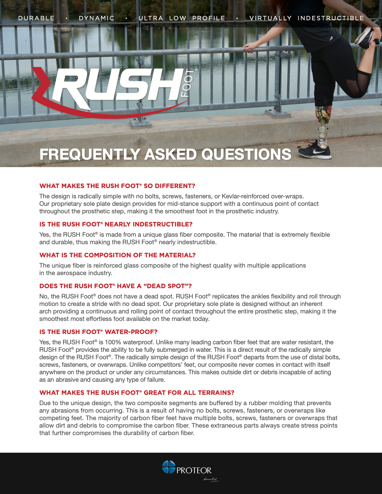 RUSH Frequently Asked Questions