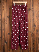 Cotton Printed Polka Dots Pants