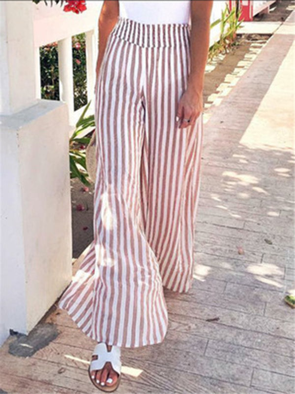 Striped Daily Casual Loose Pants