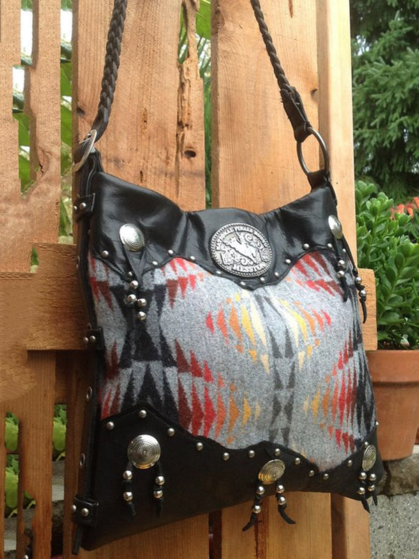 Black Boho Shoulder Bags