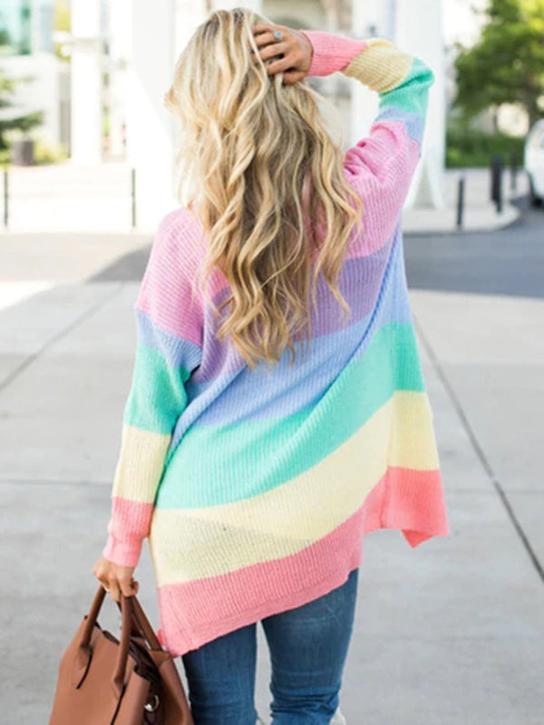 Long Sleeve Cotton Casual Cardigan