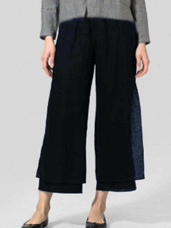 Cotton-Blend  For Women Pants