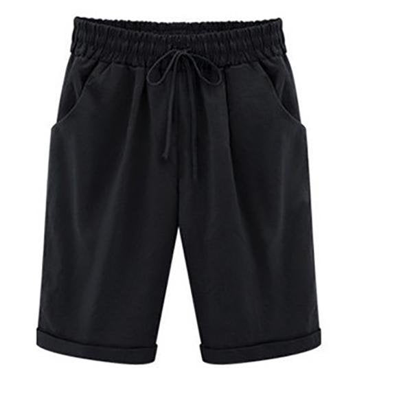 Casual Plus Size Short Pants
