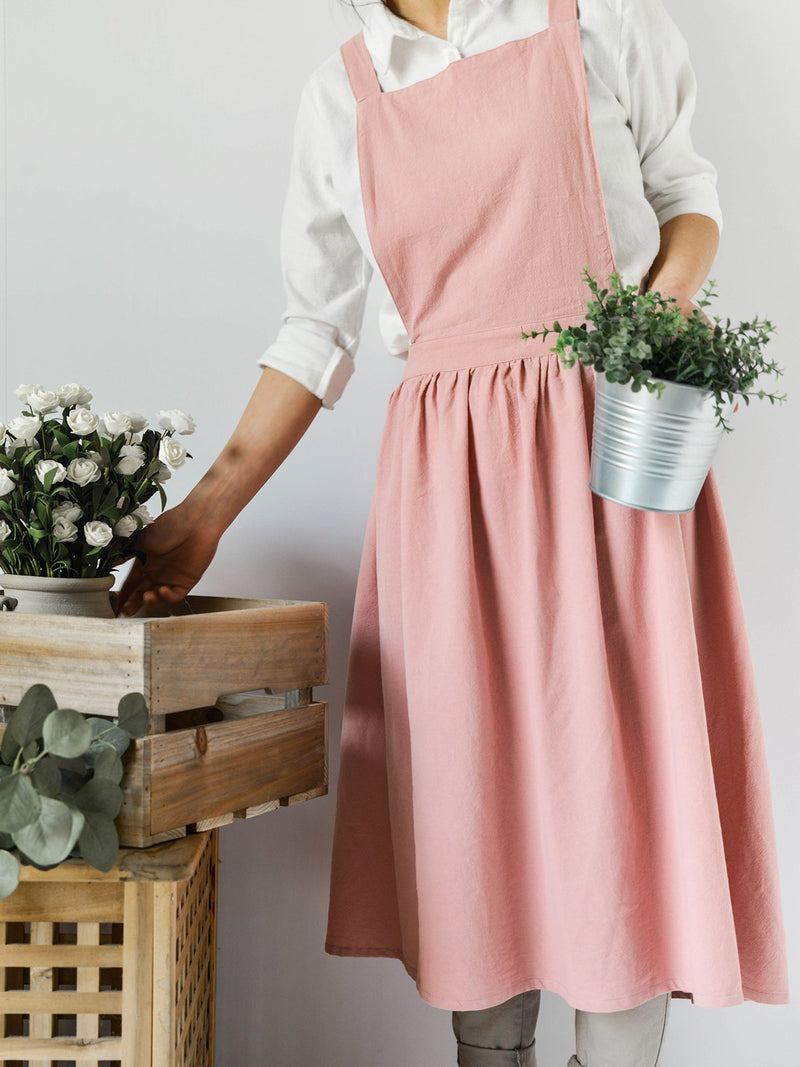 Sleeveless Solid Casual Dress