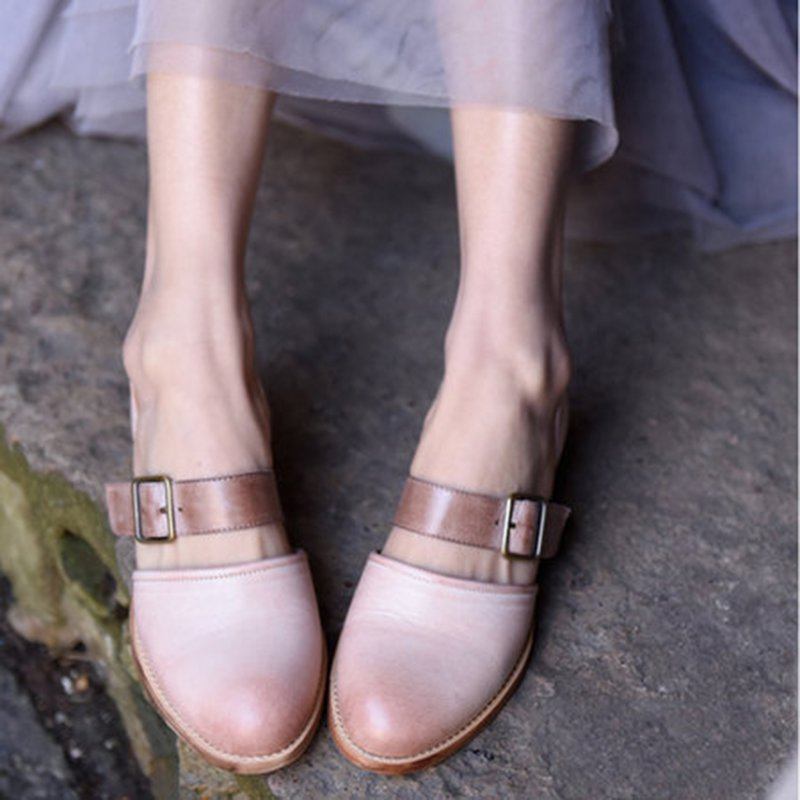 Women Elegant Pu Daily Low Heel Sandals