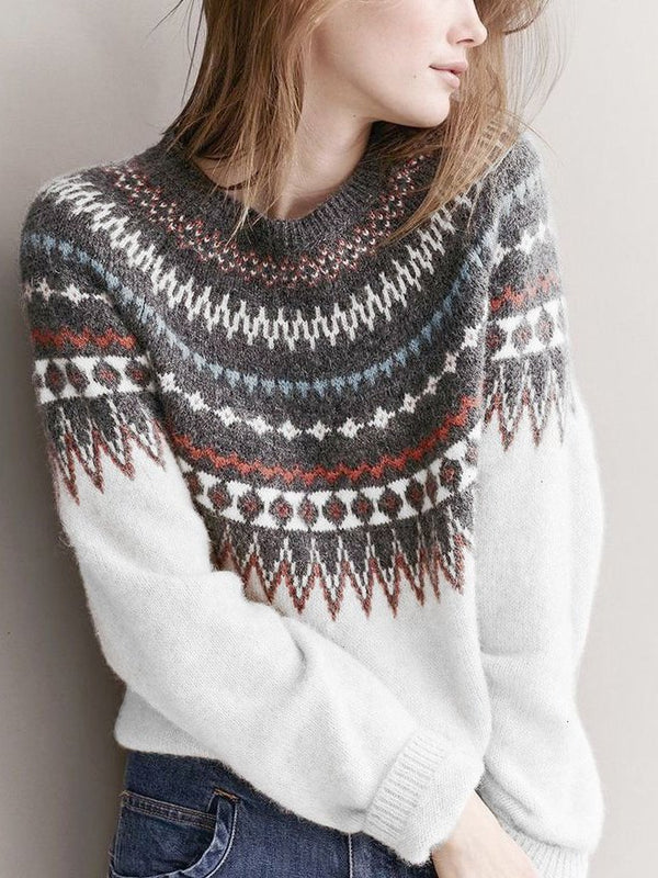 Casual Bohemian Sweater