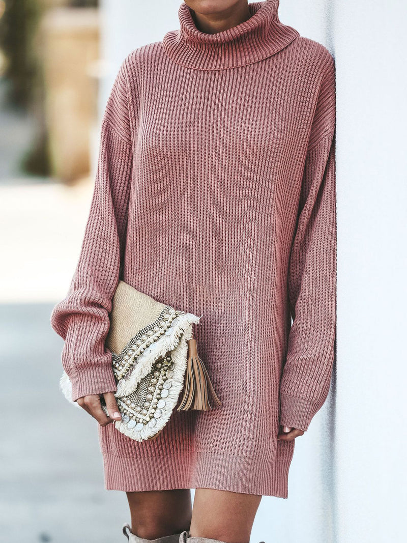 Pink Long Sleeve Shift Paneled Shirts & Tops