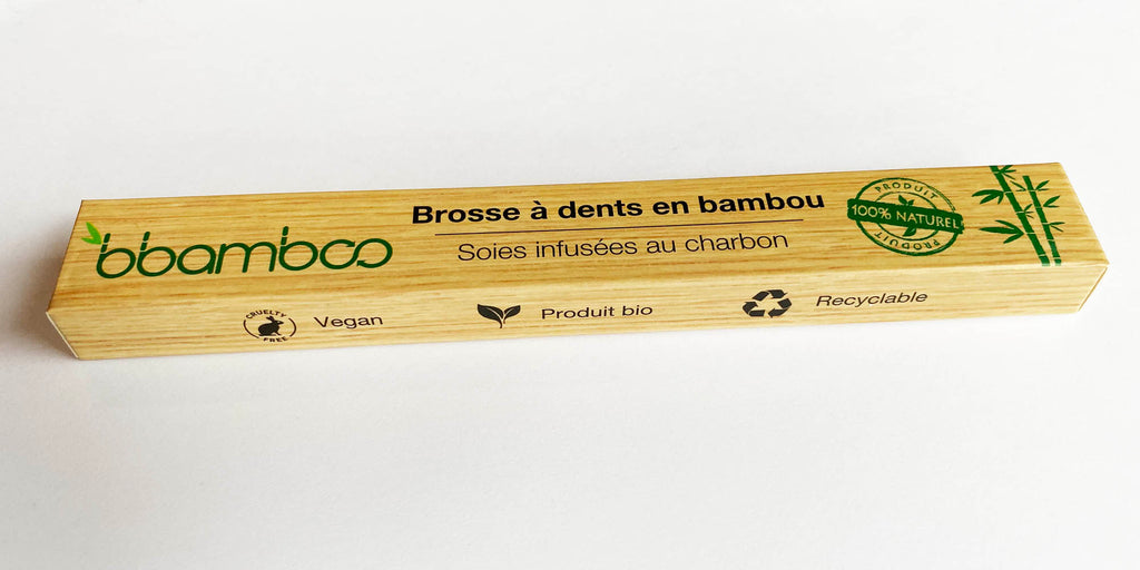recycler emballage brosse à dents bambou